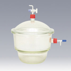 Desiccator with Top Side Valve DURAN