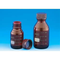 Screw Cap Bottle Brown With Red Cap 25 mL–2 L