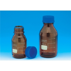 Screw Cap Bottle Brown With Blue Cap 25 mL–10 L