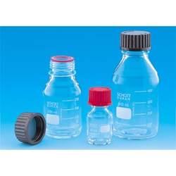 Screw Cap Bottle with Red Cap 25 mL–10 L