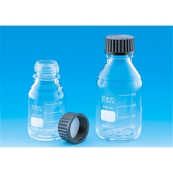 Screw Cap Bottle with Black Cap 100 mL–10 L