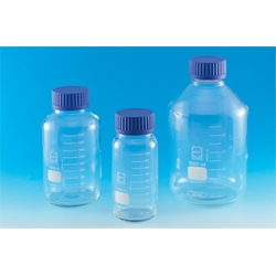 Screw Cap Bottle GLS80 With Blue Cap 500 mL–2 L