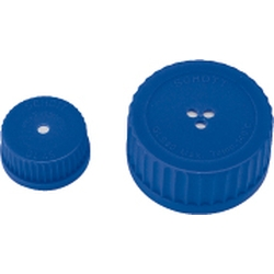 Screw Cap Bottle, Membrane Cap, GL-45, 10 pcs