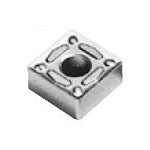 Square-Shape With Hole, Negative, SNMG-UG, For Medium Cutting