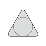 Sumi Diamond Chip T (Triangle) NF-TBGN