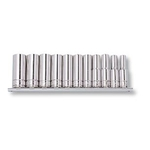 "3/8"" SQ Deep Socket Set (Hex) 12431"
