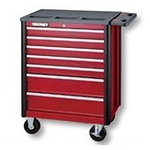 54066 Heavy Roller Cabinet 7 Stages (Red)