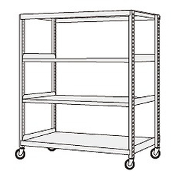 Medium Duty Caster Rack, Height 1680 mm