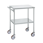 Stainless Steel CS Wagon Large Type Casters With Grip Specification