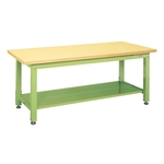 Heavy Duty Workbench, KW Type, With 2 Intermediate Plates, Uniform Load 2,000 kg