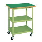 Single Workbench, Light Duty Mobile Type, Uniform Load 120 kg