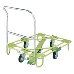 Freely Rotating Dolly, Light Weight Type, with Handle / Central Base
