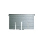 Stainless Steel Medicine Cabinet - Optional Horizontal Partition Plate (Stainless Steel)