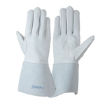 Welding Gloves 123 A Argon White