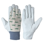 Fine Leather Gloves 126 White