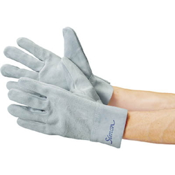 Heavy Duty Leather Gloves - Inner Stitched