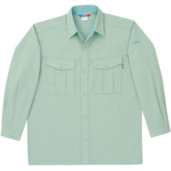 4115 Long-Sleeve Work Shirt (for Fall and Winter, Unisex)