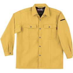 6115 Long-Sleeve Work Shirt (for Fall and Winter, Unisex)