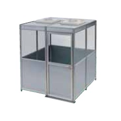 Clean booth unit (standard booth unit)