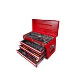 Deluxe hand tool set for professionals Insertion angle 9.5 mm