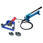 Hydraulic pipe bender pump set