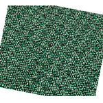 New Rib Reed Mat, Entrance Mat, Green / Gray