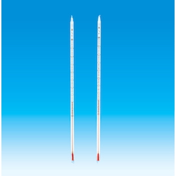 Fluororesin Covered Thermometer, with red liquid