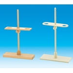 Funnel stand, wood, 2 pieces