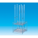 Pipette Stand, Stainless Steel Square
