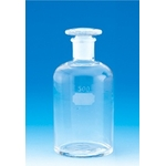 Narrow-Mouthed Transparent Reagent Bottle with Air Tight Lid and Capacity of 30 mL to 120 mL