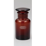 Wide-Mouthed Brown Reagent Bottle with Air Tight Lid and Capacity of 30 mL to 120 mL