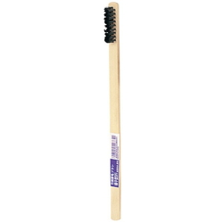Takegara Hog Bristle Brush, Toothbrush-Type, 3 Rows of Bristles