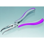 Trinity Curved Nose Needle Nose Pliers (with groove)