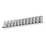 Socket Set (double hex, with Holder) HD412