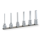 Long Hexagonal Socket Set (with Holder) HH406L