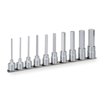 Long Hexagonal Socket Set (with Holder) HH410LA