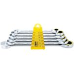 6-Piece Set Ratchet Combination Set