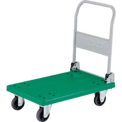Plastic Trolley, Grand Cart, Folding Handle Type