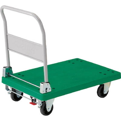 Plastic Trolley, Grand Cart, Folding Handle Type / with Stopper