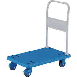 Plastic Trolley, Grand Cart, Silent, Fixed Handle Type