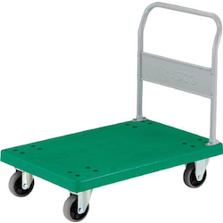 Plastic Trolley, Grand Cart, Fixed Handle Type / Urethane Caster