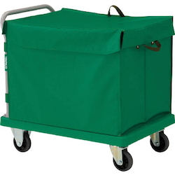 Plastic Trolley, Grand Cart, with Hand Truck Box, with Lid Type