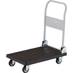 Electro-Conductive Resin Hand Truck Gran Cart, Collapsible Handle Type