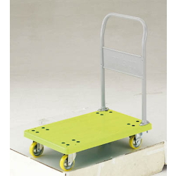 Anti-Static Resin Trolley, Grand Cart, Fixed Handle Type