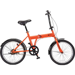 "Blowout-Free Bicycles for Use on Premises and in Case of Disasters, Hazard Runner (20"")"