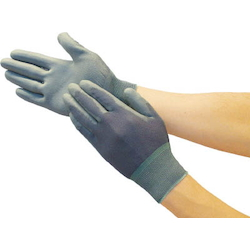 Color Nylon Glove PU Palm Coat
