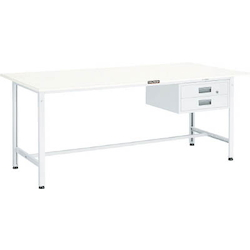 Light Work Bench with 2 Drawers Steel Tabletop Average Load (kg) 300