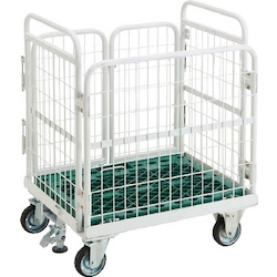 Foldable Net Trolley AMIGOCARGO with Stopper