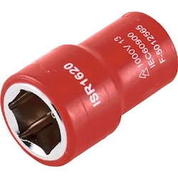 Insulated Socket Plug, Insertion Angle 9.5 mm