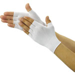 Inner Gloves for Cleanroom (Half-finger type x 10 pairs)